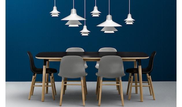 Normann Copenhagen - Form stoel met metalen frame - zwart - 7