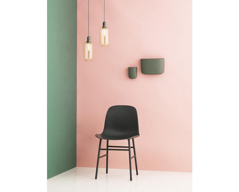 Normann Copenhagen - Form Stuhl mit Holzgestell - 5