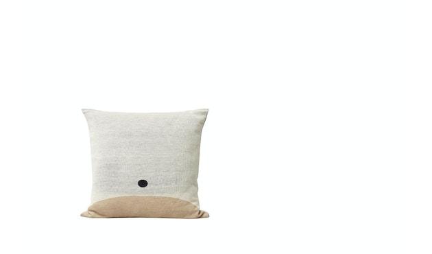 Aymara Kissen - gemustert Creme - 52 x 52 cm