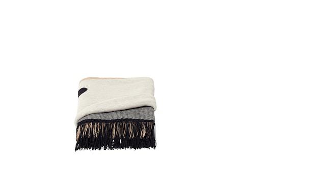 Aymara Decke - gemustert Creme - 130 x 190 cm