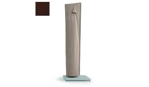 Weishäupl - Schutzhülle für Freiarmschirm - mokka - Schirmmodell Ø 350 cm und 300 x 300 cm - 0