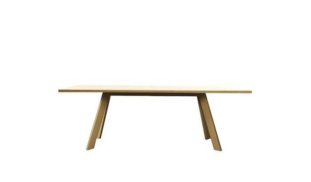 more - Tosh Tisch - Eiche 01, geölt & gewachst - 160 x 90 cm - Bootsform - 1