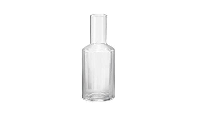 ferm LIVING - Ripple Karaffe - transparent - 1