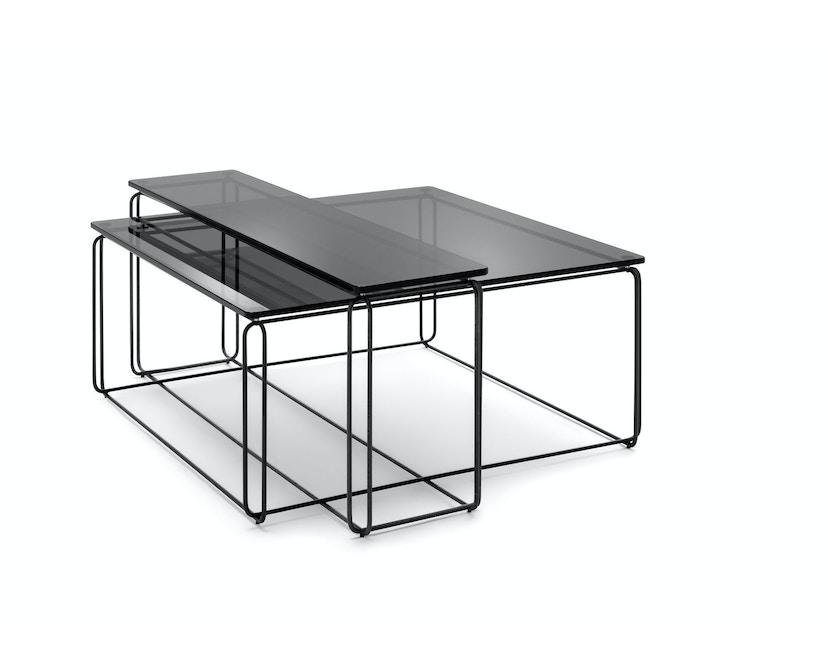 Freistil 182 Couchtisch - Parsolglas - 105x25 cm_Freistil Rolf Benz_KaschKasch Cologne