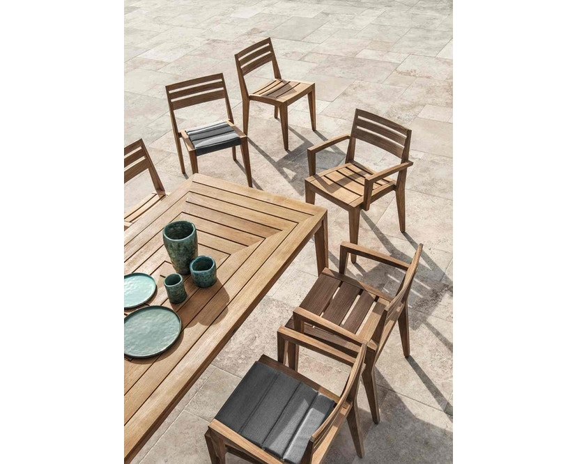 Ethimo - Friends Tisch rechteckig - Natural Teak - 6