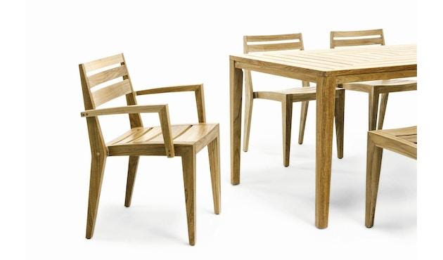 Ethimo - Friends Tisch rechteckig - Natural Teak - 4