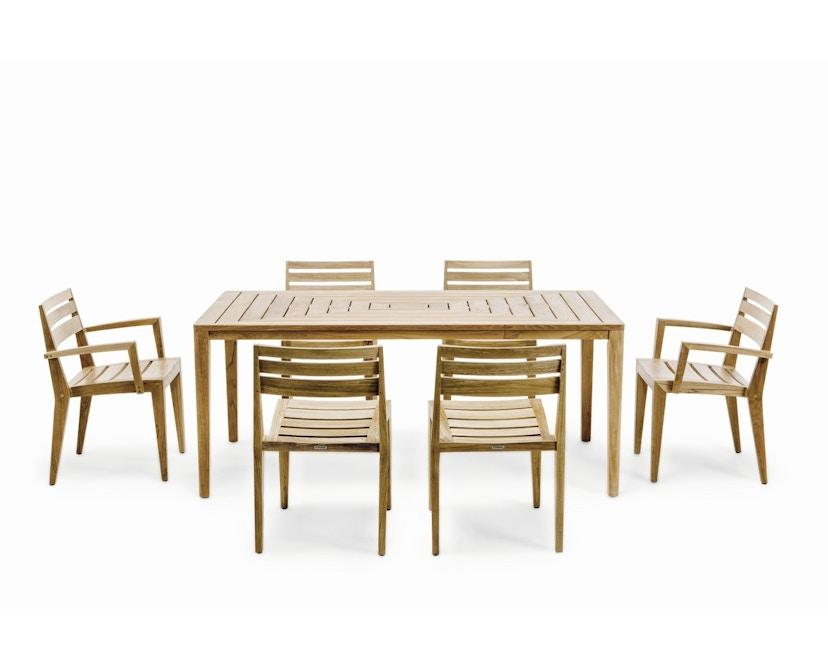 Ethimo - Friends Tisch rechteckig - Natural Teak - 5