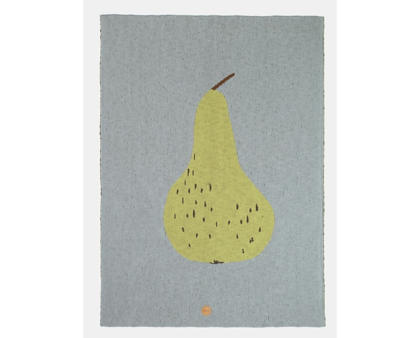 ferm LIVING - Fruiticana Decke - Birne - 1