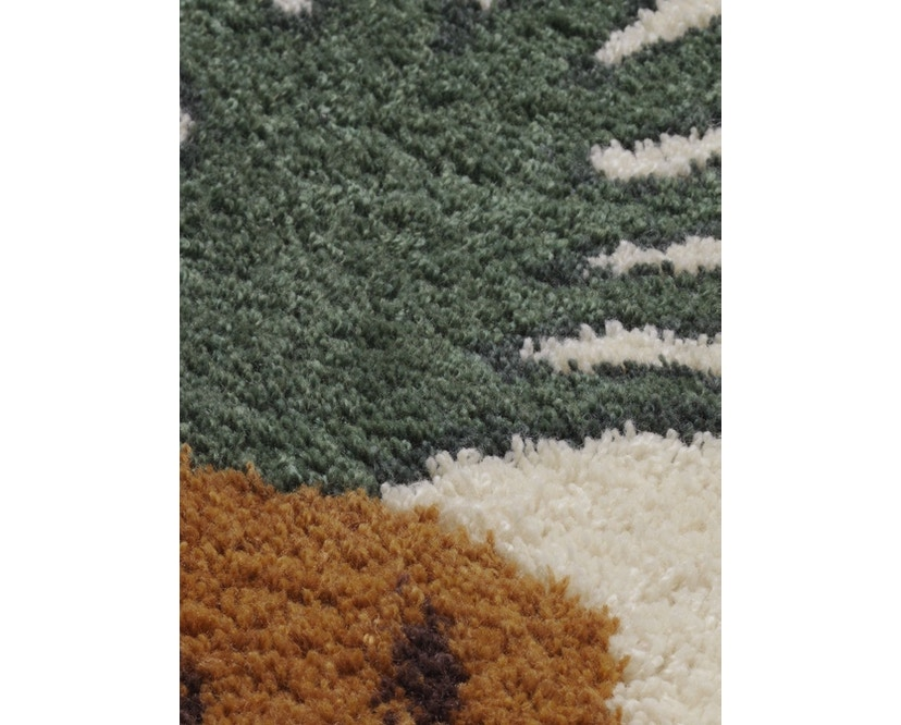 ferm LIVING - Fruiticana Teppich - groß - Ananas -  - 2