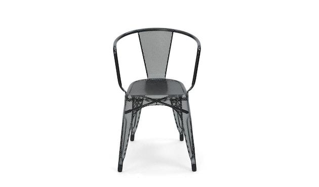 Tolix - A56 Armlehnstuhl Perforiert - outdoor - schwarz - 3
