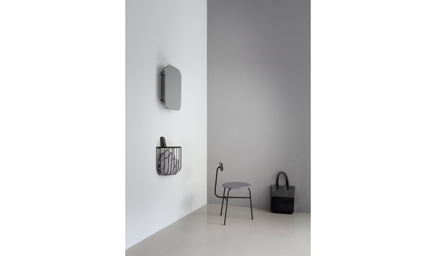 Menu - FUWL Cage Mirror spiegel - wit - 4