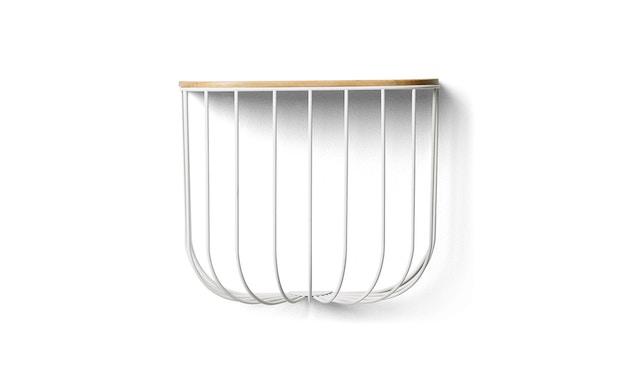 Menu - FUWL Cage Shelf Regal - weiß - 2