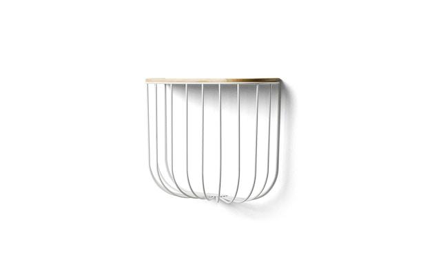 Menu - FUWL Cage Shelf Regal - weiß - 1
