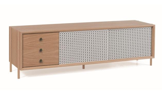 Harto - Gabin Sideboard mit Schubladen - Eiche - lichtgrau - 4
