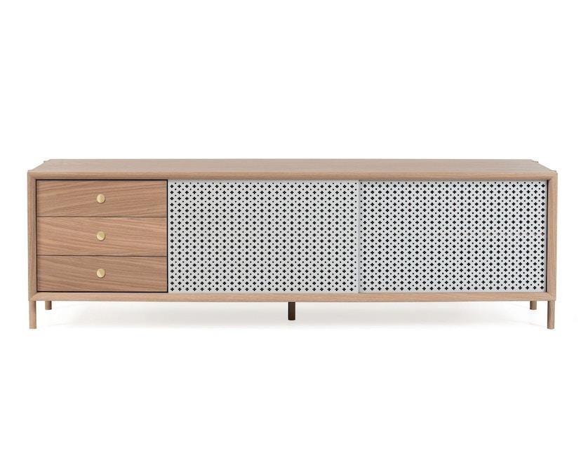 Harto - Gabin Sideboard mit Schubladen - Eiche - lichtgrau - 3