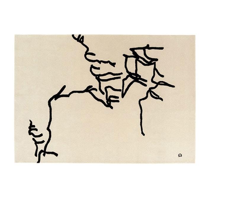 Nanimarquina - Chillida Dibujo tinta 1957 Teppich - 1