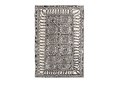 Nanimarquina - Tapis Black on white - 1