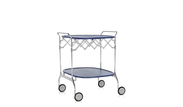 Kartell - Gastone trolley - blauw - 3
