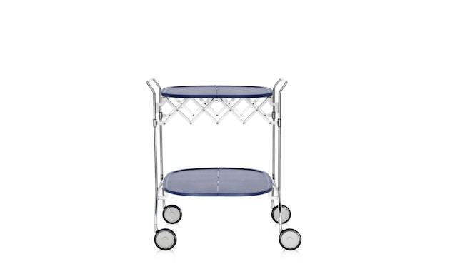 Kartell - Gastone trolley - blauw - 6