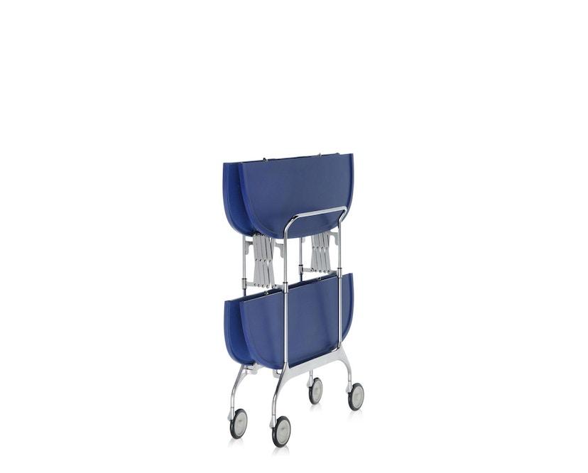 Kartell - Gastone trolley - blauw - 5