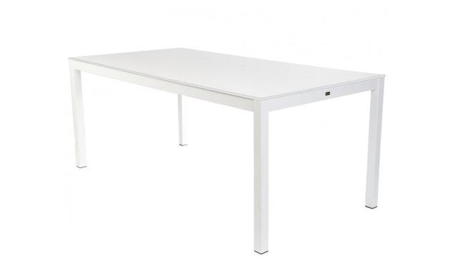 Jan Kurtz - Quadrat Tisch - HPL Zementoptik - Gestell schwarz - 80x50 - 4