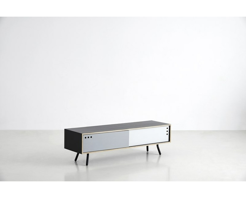 Woud - Geyma Sideboard - Black/grey - tief - 2