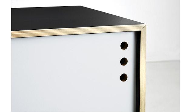 Woud - Geyma Sideboard - Black/grey - tief - 4