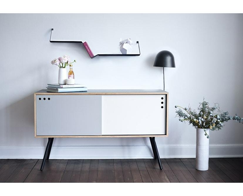Woud - Geyma Sideboard - Black/grey - tief - 5