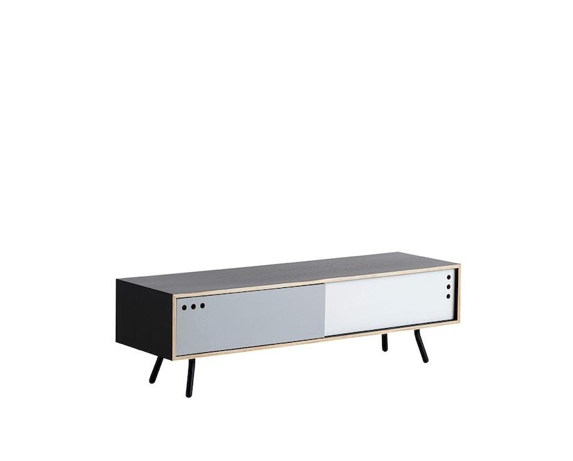 Woud - Geyma Sideboard - Black/grey - tief - 1