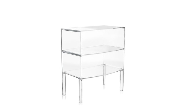Kartell - Ghost Buster commode - glashelder - 1