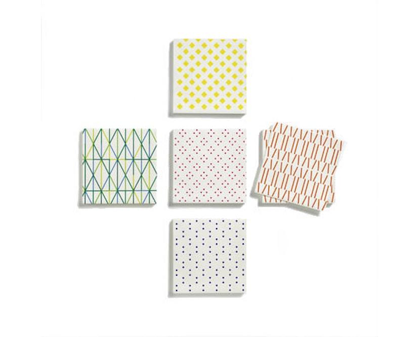 Vitra - Papierservietten - gemustert - 1