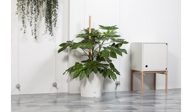 Urbanature - Pflanzentrolley Plantenbak - wit - 3