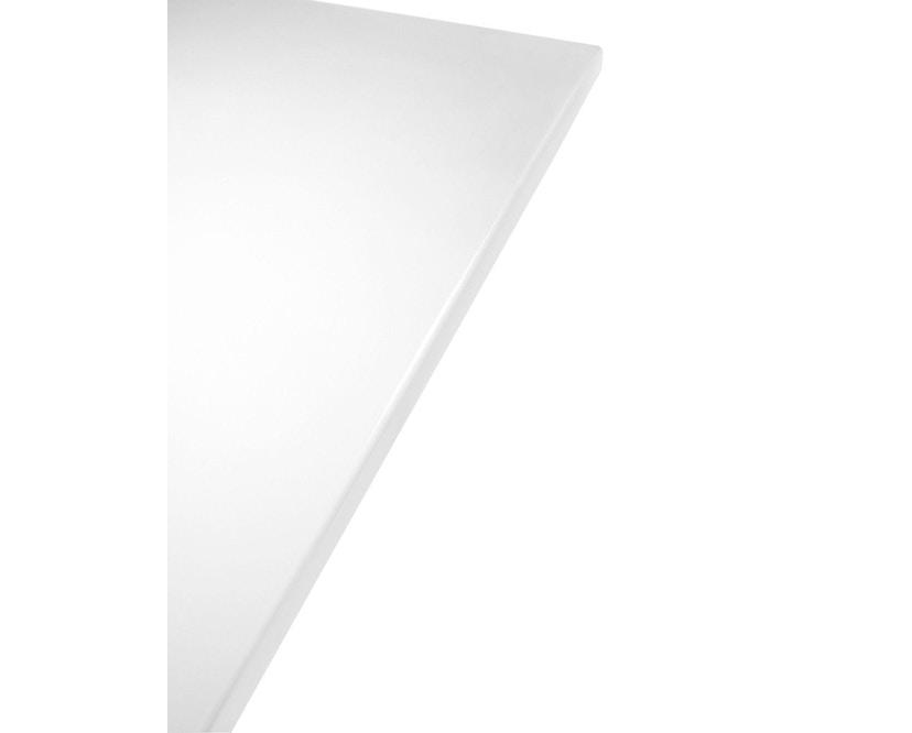 Kartell - Glossy Tisch - quadratisch - weiß - 3