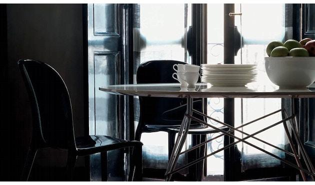 Kartell - Glossy Tisch - quadratisch - weiß - 8