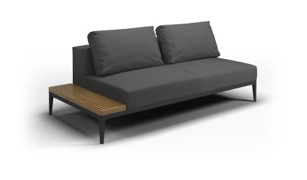 Gloster - Grid Sofa Tisch - meteor - anthrazit - 1