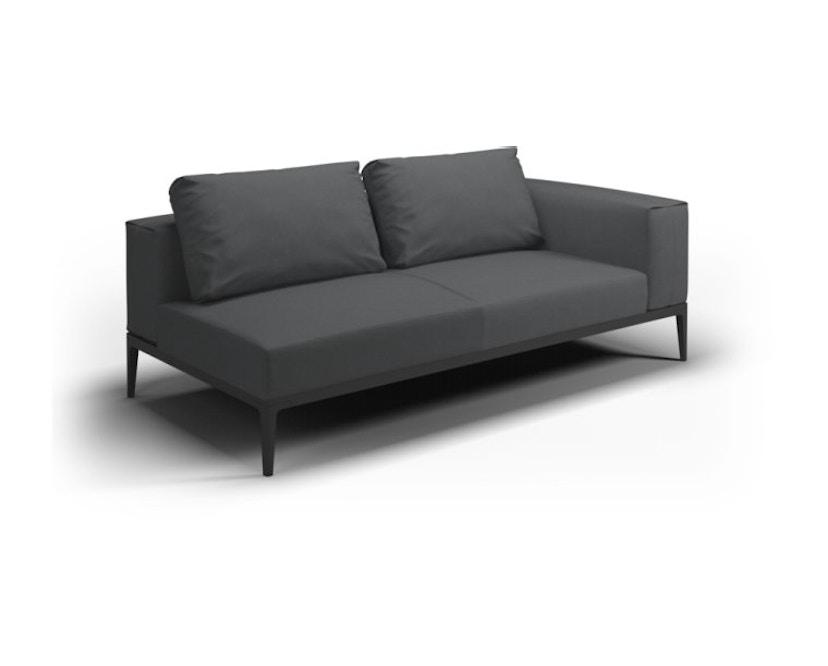 Gloster - Grid Sofa - meteor - anthrazit - 1