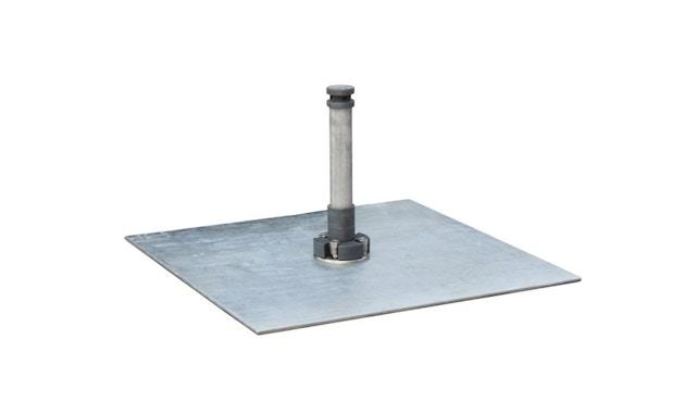 Tuuci - Parasolstandaard G-MAX-plaat staalplaat - 1