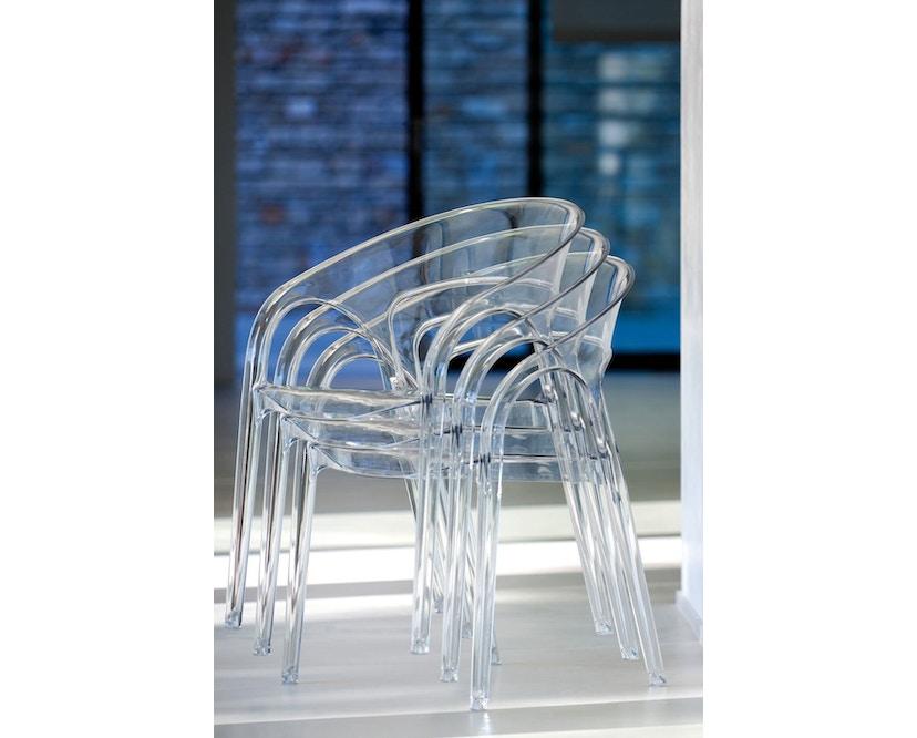 Pedrali - Gossip Stuhl - transparent - 5