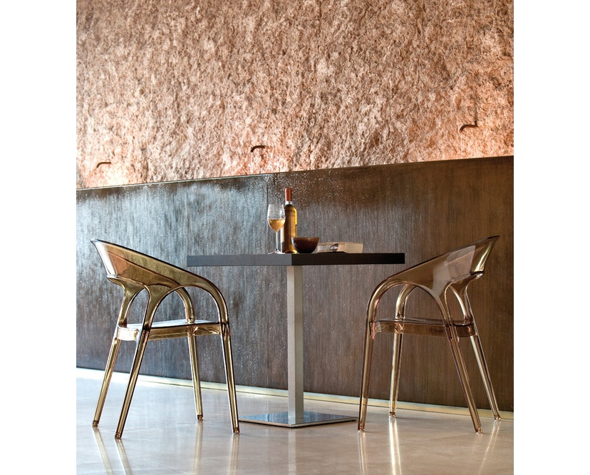 Pedrali - Gossip Stuhl - schwarz lackiert - 3