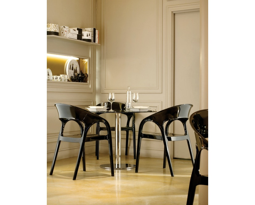 Pedrali - Gossip Stuhl - schwarz lackiert - 4