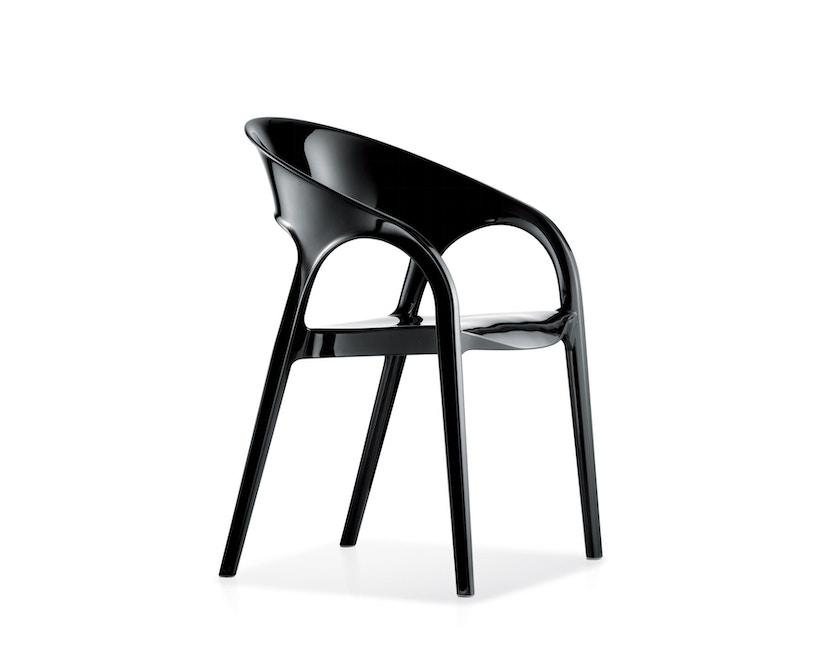 Pedrali - Gossip Stuhl - schwarz lackiert - 1