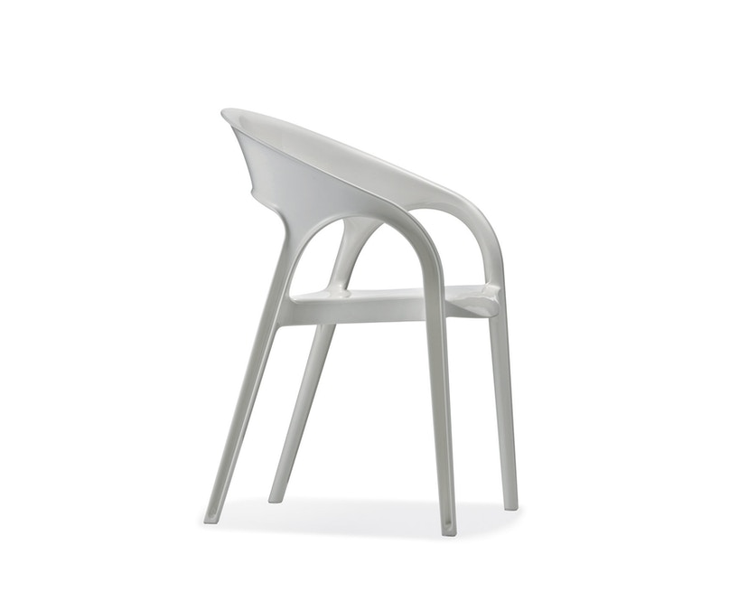 Pedrali - Gossip Stuhl - weiss lackiert - 1