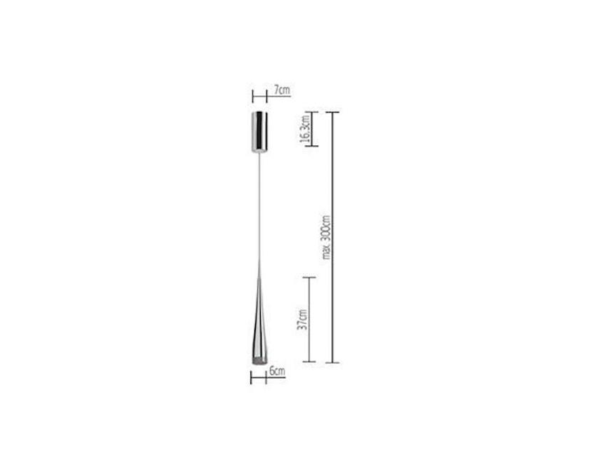 Tobias Grau - Grand Nice hanglamp - Optic Aluminium - Up Round 7 - 2