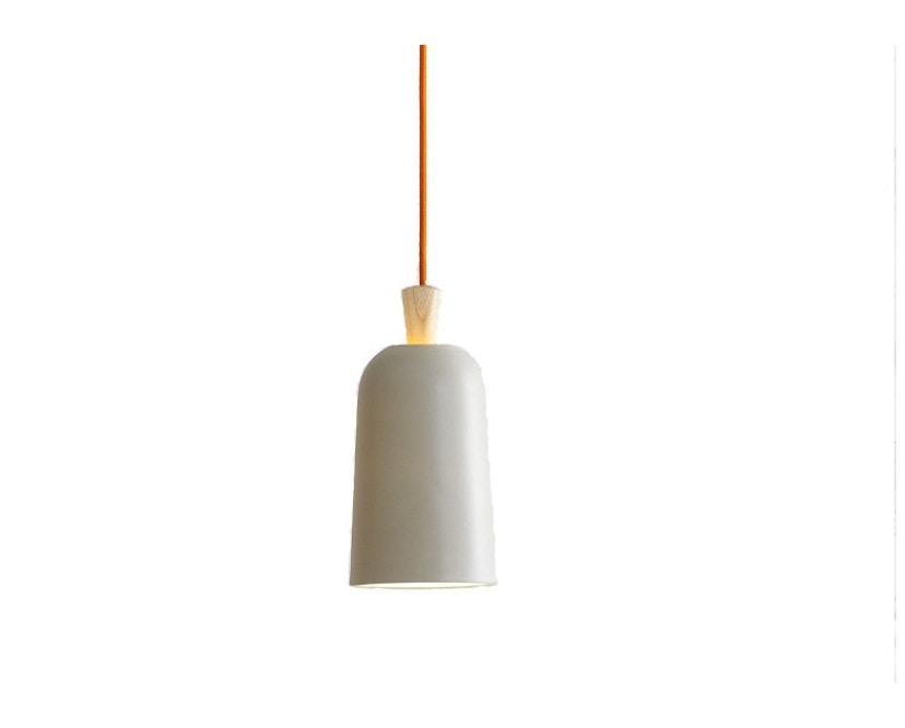 ex.t - Fuse Small Hängeleuchte - grau - Kabel orange - 1
