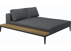 Canapé Grid Module de relaxation avec table