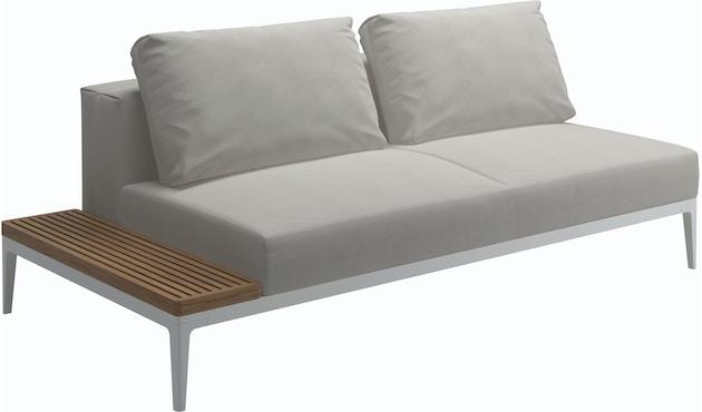 Grid Sofa mit Tisch