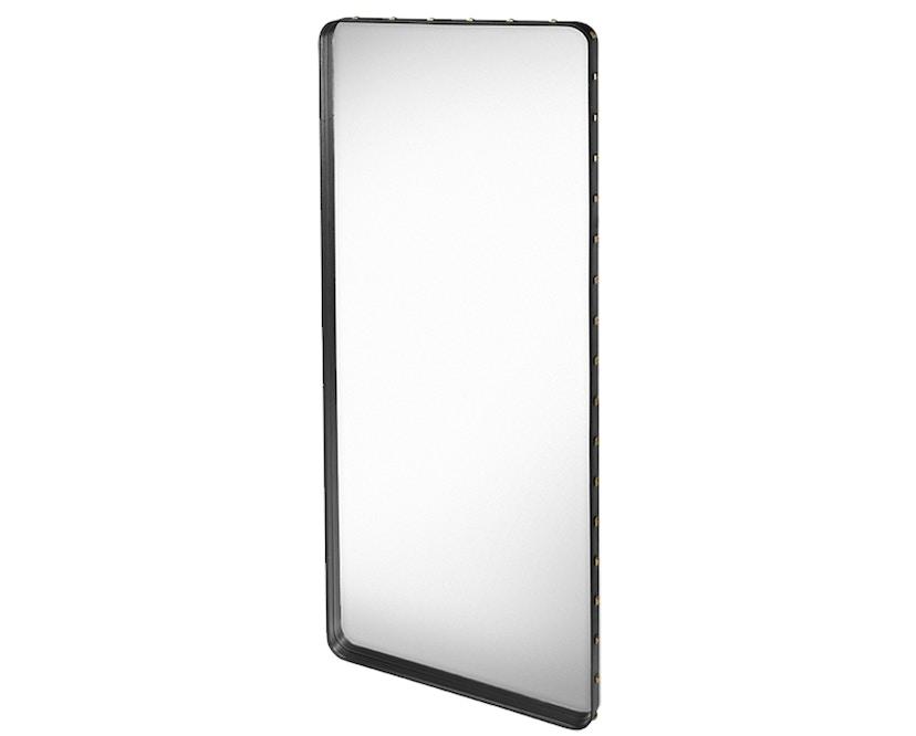 Gubi - Adnet Spiegel Rectangulaire - L - schwarz - 1