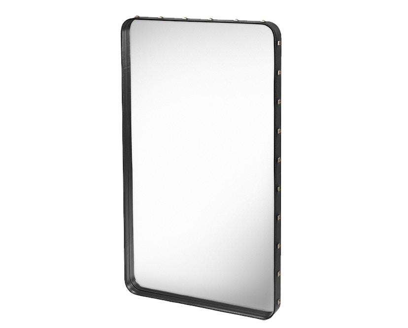 Gubi - Adnet Spiegel Rectangulaire - M 115 x 70 cm - zwart - 1