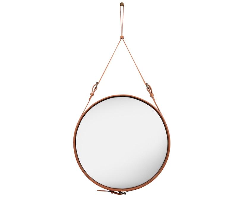 Gubi - Adnet Spiegel - Ø 45 cm - braun - 1