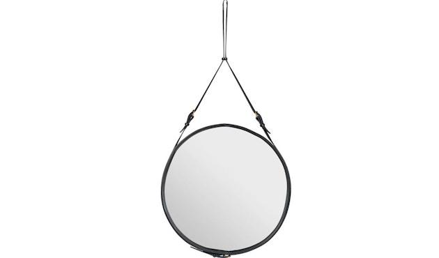Gubi - Adnet Spiegel - Ø 45 cm - schwarz - 1